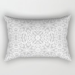 Pattern Grey / Gray Rectangular Pillow