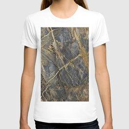 Natural Geological Pattern Rock Texture T-shirt