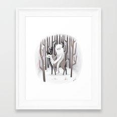 Winter Snow Framed Art Print