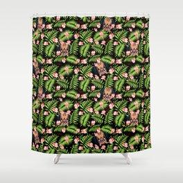 Hawaii Predator Pattern Shower Curtain