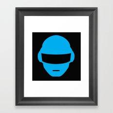 Daft Punk Thomas Bangalter Helmet Framed Art Print