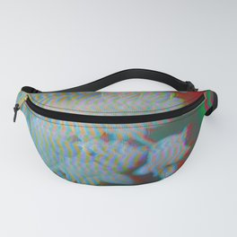 Analogue Glitch Radioactive Bouquet Fanny Pack