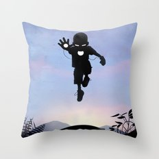 Iron Kid Throw Pillow