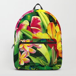 Tropical Panorama part 1 Backpack