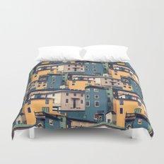 Night Castles (Pattern) Duvet Cover