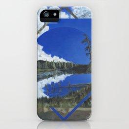 Grand Mesa Polyscape iPhone Case