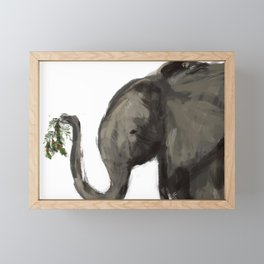 Emma Mistletoe Framed Mini Art Print