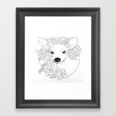I Deerly Love You Framed Art Print
