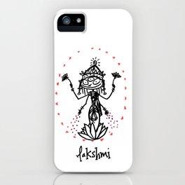 Lakshmi: Goddess of Abundance iPhone Case