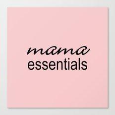 Mama Essentials Pantone 2016-Rose Quartz Canvas Print