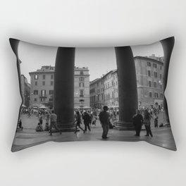 view from the pantheon Rectangular Pillow