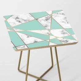 Marble Geometry 055 Side Table