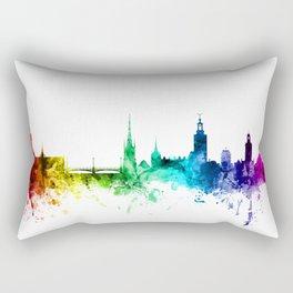 Stockholm Sweden Skyline Rectangular Pillow