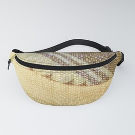 Agave Cactus on burlap cloth Fanny Pack