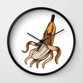 Banana Octopus | Underwater Vitamins Wall Clock