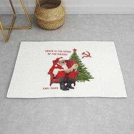 Karl Marx Santa Rug
