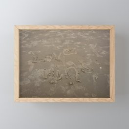 """Love Wins"" Framed Mini Art Print"