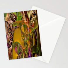Of Diatoms and Parallel Universes Stationery Cards