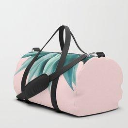 Agave fringe - blush Duffle Bag