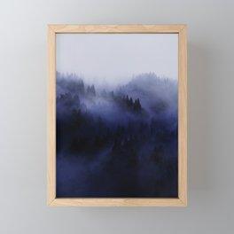 Bluescape No. 3 Framed Mini Art Print