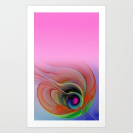 for sheer curtains and more -2- Art Print
