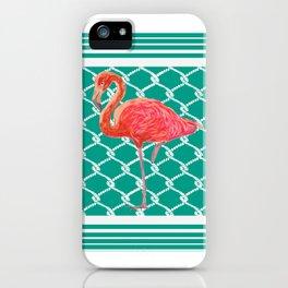 Flamingo Flare- Coastal Home Decor iPhone Case