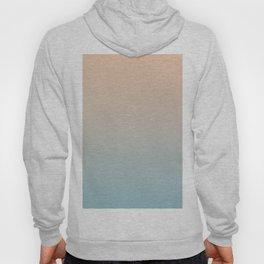 HALF MOON - Minimal Plain Soft Mood Color Blend Prints Hoody