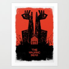 The Walking Dead. Art Print