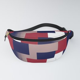 Seamless checkered. Fanny Pack