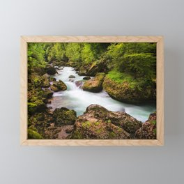 Chatel to Thonon Framed Mini Art Print