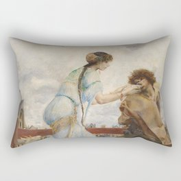 The Hunchback of Notre Dame - Luc-Olivier Merson Rectangular Pillow