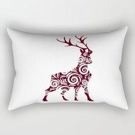ornamental stag Rectangular Pillow