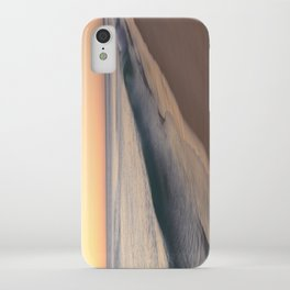 smooth waves iPhone Case