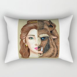 Beauty & the Beast Rectangular Pillow