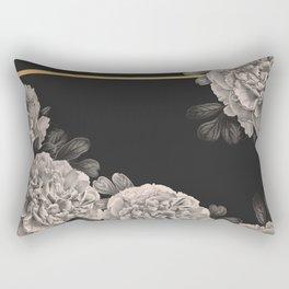 Flowers on a winter night Rectangular Pillow