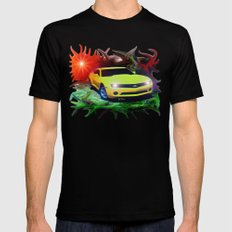 2011 Camaro X-LARGE Black Mens Fitted Tee