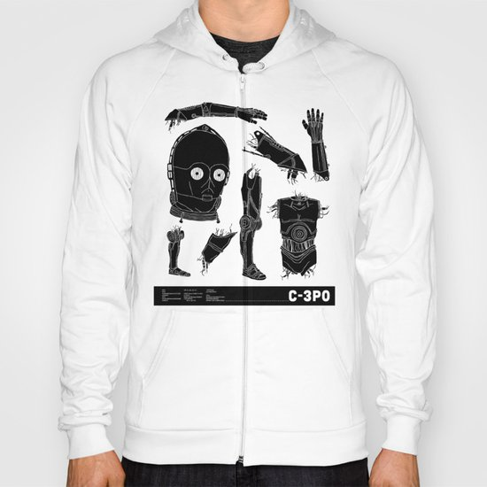 Decommissioned: C-3P0 Hoody