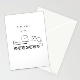 Unqualified Advice 10: Just roll with it Stationery Cards