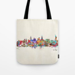 Las Vegas Nevada skyline Tote Bag