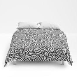 Checkered Warp Comforters