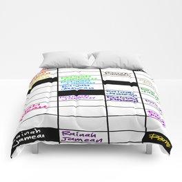 Rainah Jamean Crossword Puzzle Comforters
