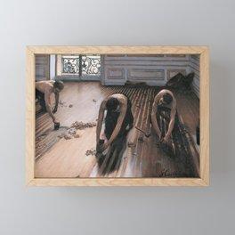 The Floor Scrapers Framed Mini Art Print