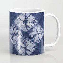Denim Tie Dye Coffee Mug
