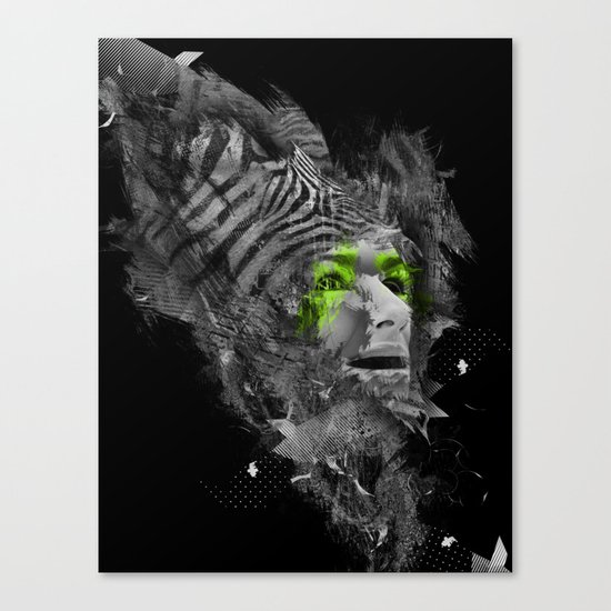 I'm Abstract Canvas Print
