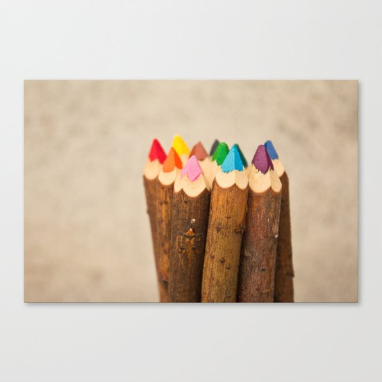Color Me Free I Canvas Print