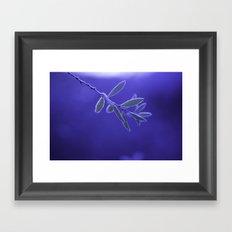 BLUEFROST Framed Art Print