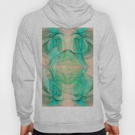 Mysterious rose emerging from the fractal space Hoody