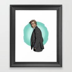 Mr Jane Framed Art Print