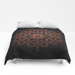 The Flower of Life - Ancient copper Comforters