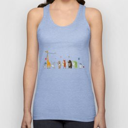 little parade Unisex Tank Top